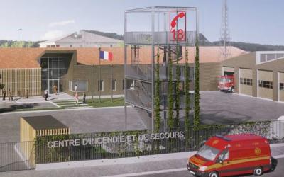 Conception du Centre de Secours Incendie à Allauch