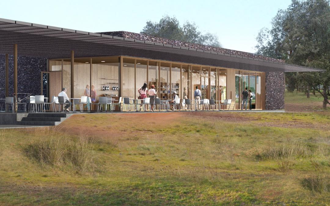 Maison du Grand Site au Lac du Salagou